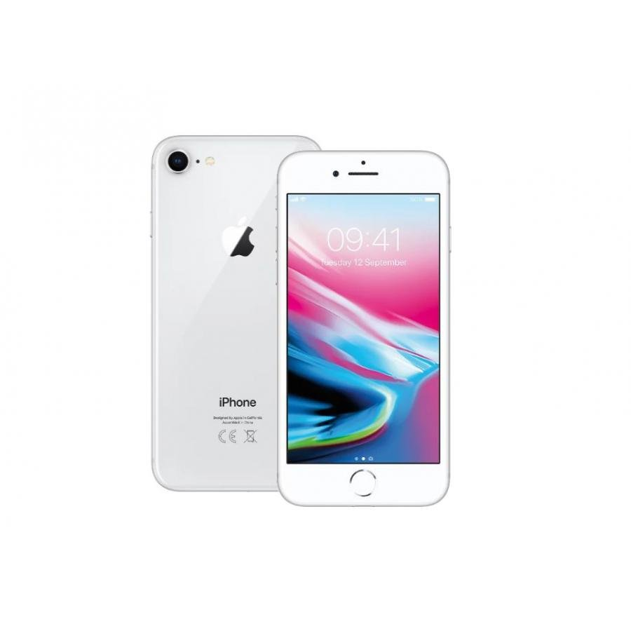 Смартфон Apple iPhone 8 64Gb Silver (MQ6H2RU/A)