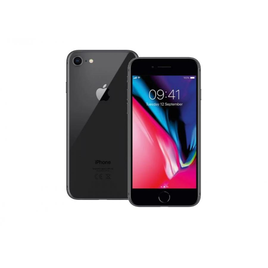 Смартфон Apple iPhone 8 64Gb Space Gray (MQ6G2RU/A) apple смартфон apple iphone 6s 16gb space gray fkqj2ru a восстановленный
