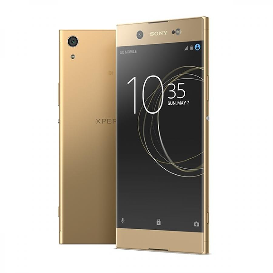 Смартфон Sony Xperia XA1 Plus Dual 32Gb G3412 Gold sony смартфон sony xperia xa1 dual sim g3116 золотой gold