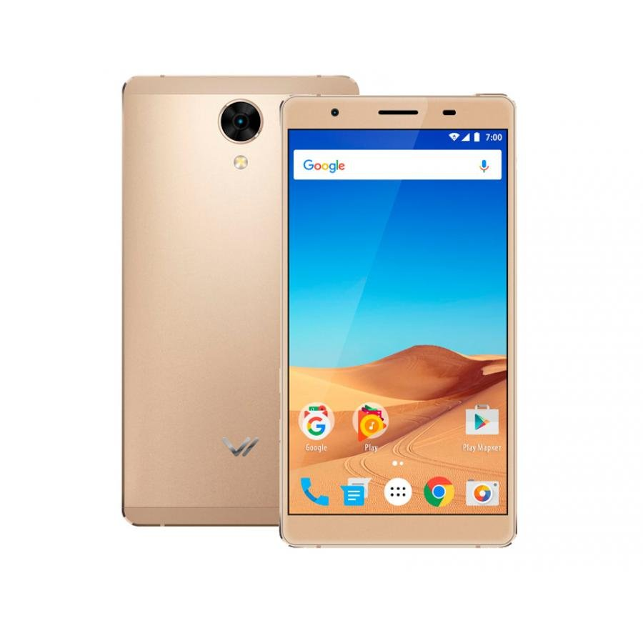 Смартфон Vertex Impress Ra 4G Gold цена и фото