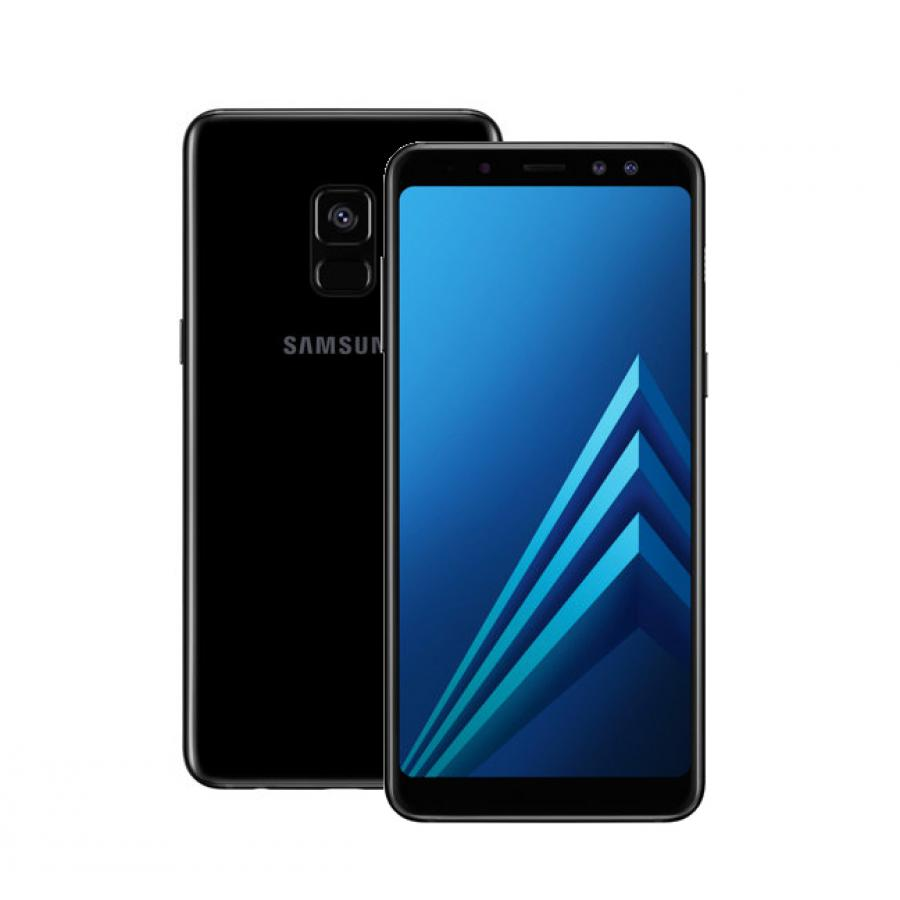 Смартфон Samsung SM-A730F Galaxy A8+ (2018) 32Gb Black смартфон samsung sm a530f galaxy a8 2018 32gb black