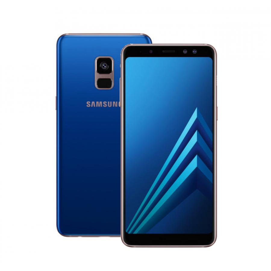 Смартфон Samsung SM-A530F Galaxy A8 (2018) 32Gb Blue смартфон samsung sm a530f galaxy a8 2018 32gb black