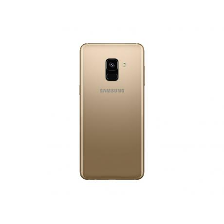 Смартфон Samsung SM-A730F Galaxy A8+ (2018) 32Gb Gold - фото 3