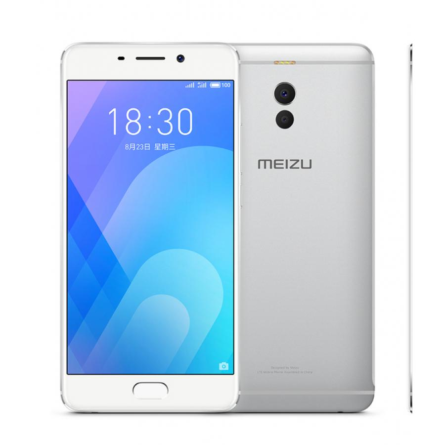 Смартфон Meizu M6 Note 16Gb Silver White смартфон meizu m6 16gb blue