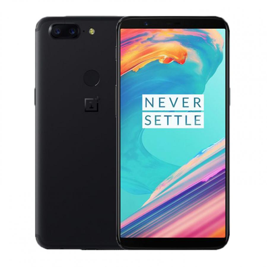 Смартфон OnePlus 5T 64Gb A5010 Midnight Black oneplus смартфон oneplus oneplus 5t 128gb ram 8gb черный black