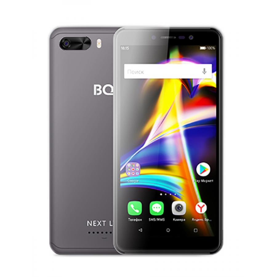 Смартфон BQ BQ-5508L Next LTE Gray