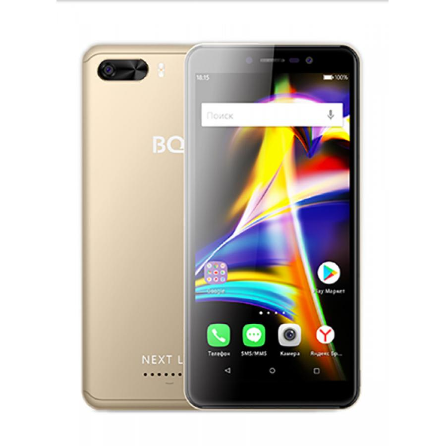 Смартфон BQ BQ-5508L Next LTE Gold