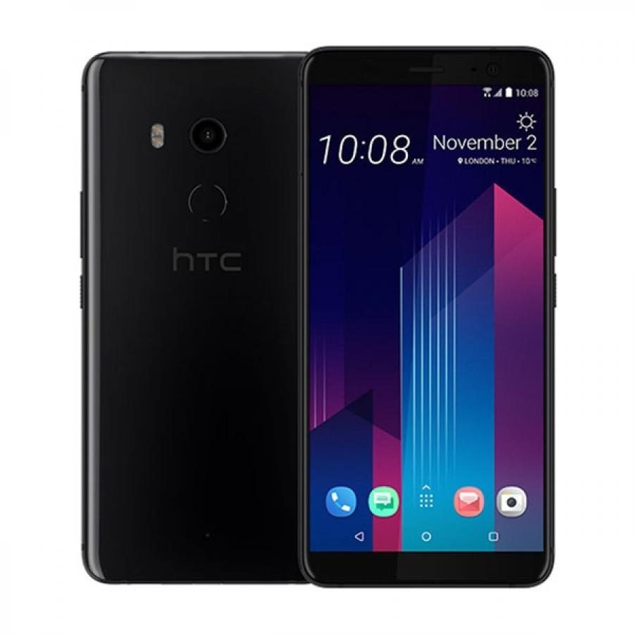 Смартфон HTC U11 Plus 64Gb Ceramic Black сотовый телефон htc u11 plus 64gb ceramic black