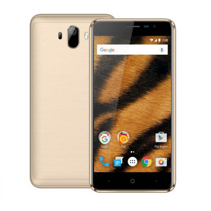 Смартфон Vertex Impress Tiger LTE Gold смартфон vertex impress new gold