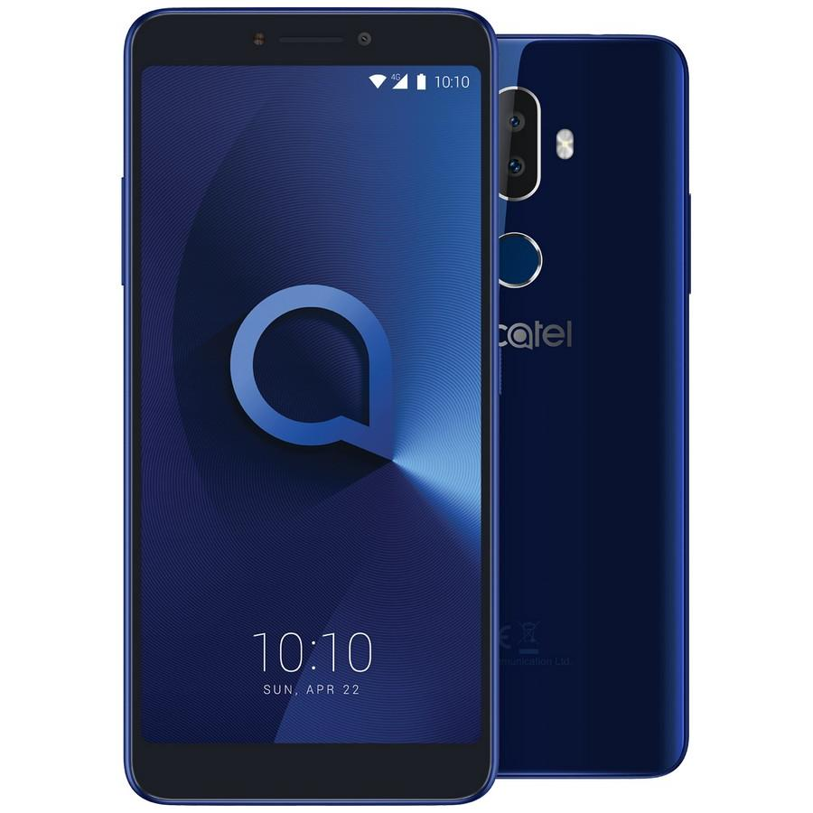 Смартфон Alcatel 3V 5099D Blue смартфон alcatel 3v 5099d spectrum blue mediatek mt8735 2gb 16gb 6 0 2160x1080 2 sim 3g lte bt 12mp 2mp 5mp wi fi gps glonas android 8 0