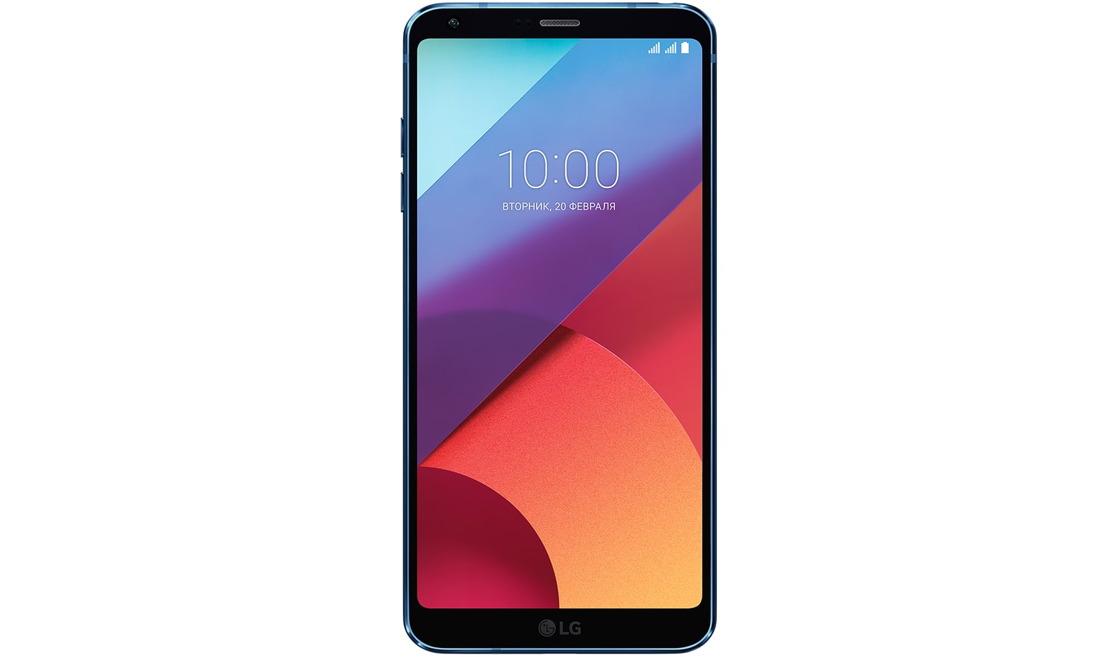 Смартфон LG G6 H870DS 64Gb Blue сотовый телефон lg g7 thinq 64gb blue