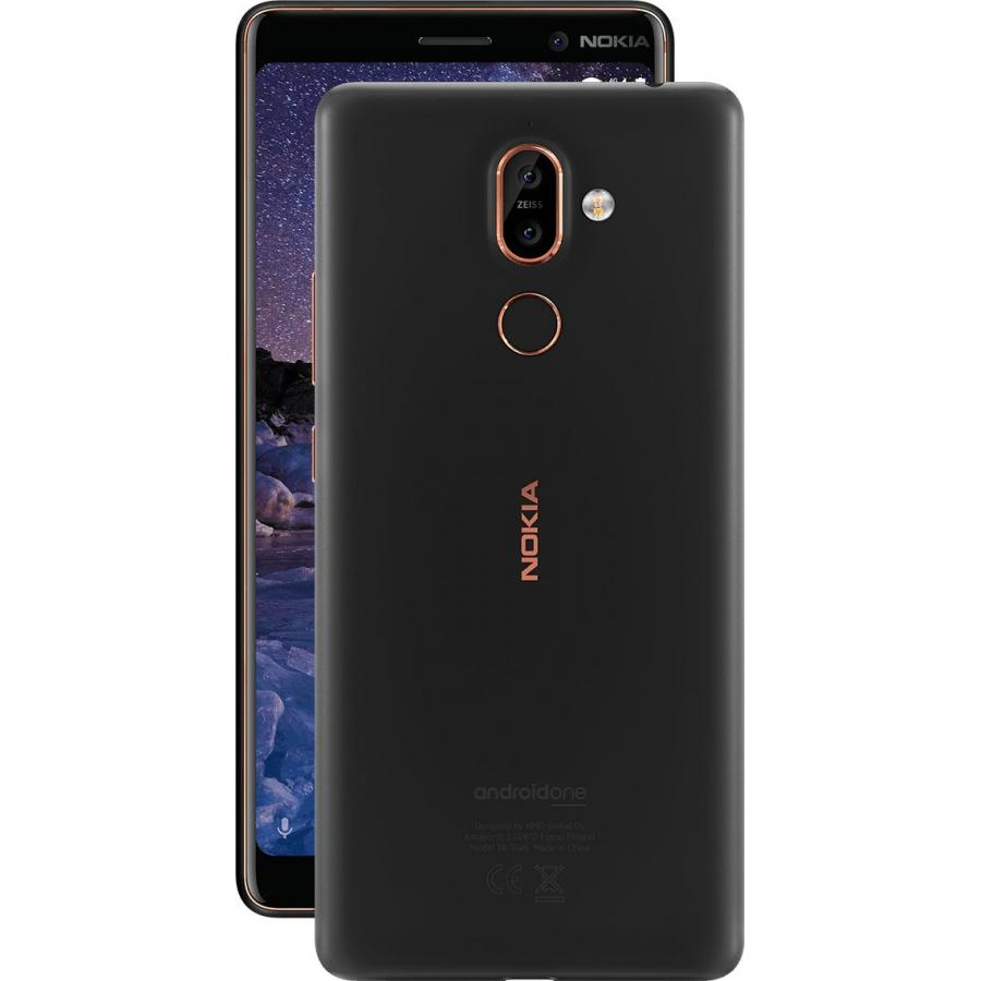 Смартфон Nokia 7 Plus DS TA-1046 Black смартфон nokia 7 plus черный