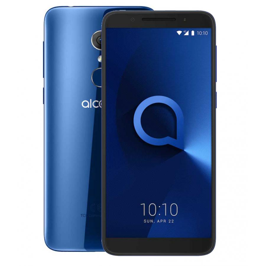 Смартфон Alcatel 3 5052D Spectrum Blue смартфон alcatel смартфон alcatel 3 5052d spectrum black
