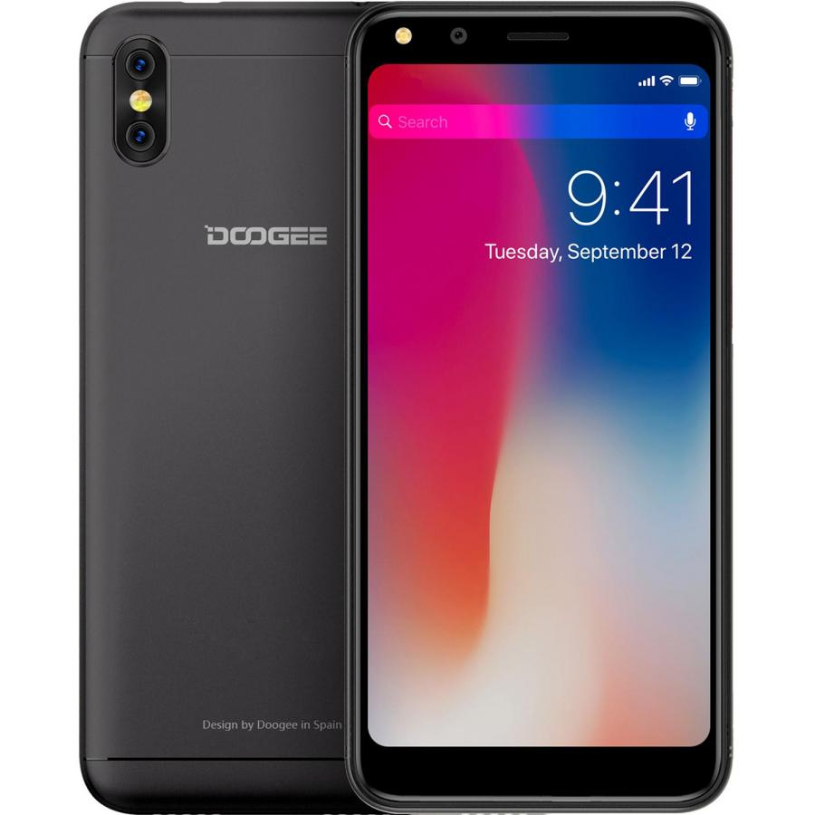 Смартфон Doogee X53 Black смартфон doogee x53 16gb black смартфон