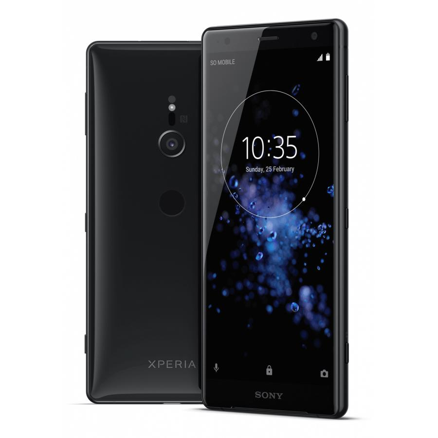 Смартфон Sony Xperia XZ2 DS H8266 Liquid Black сотовый телефон sony h8266 xperia xz2 green