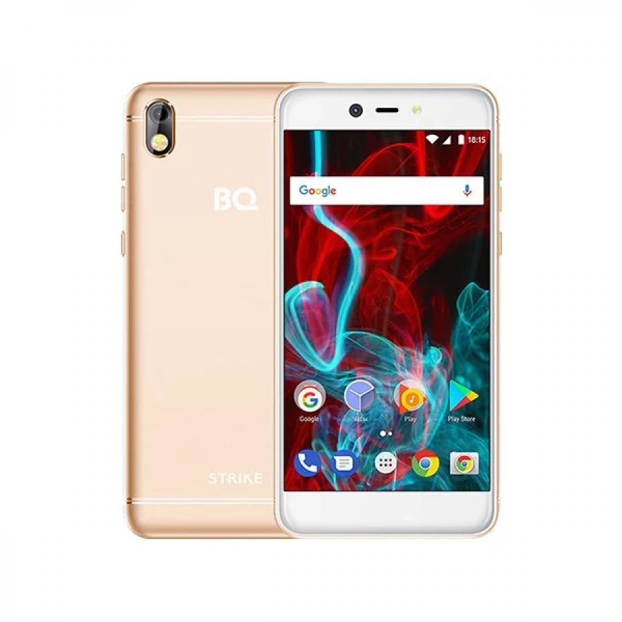 Смартфон BQ BQ-5211 Strike Gold смартфон bq mobile bq 4072 strike mini gold