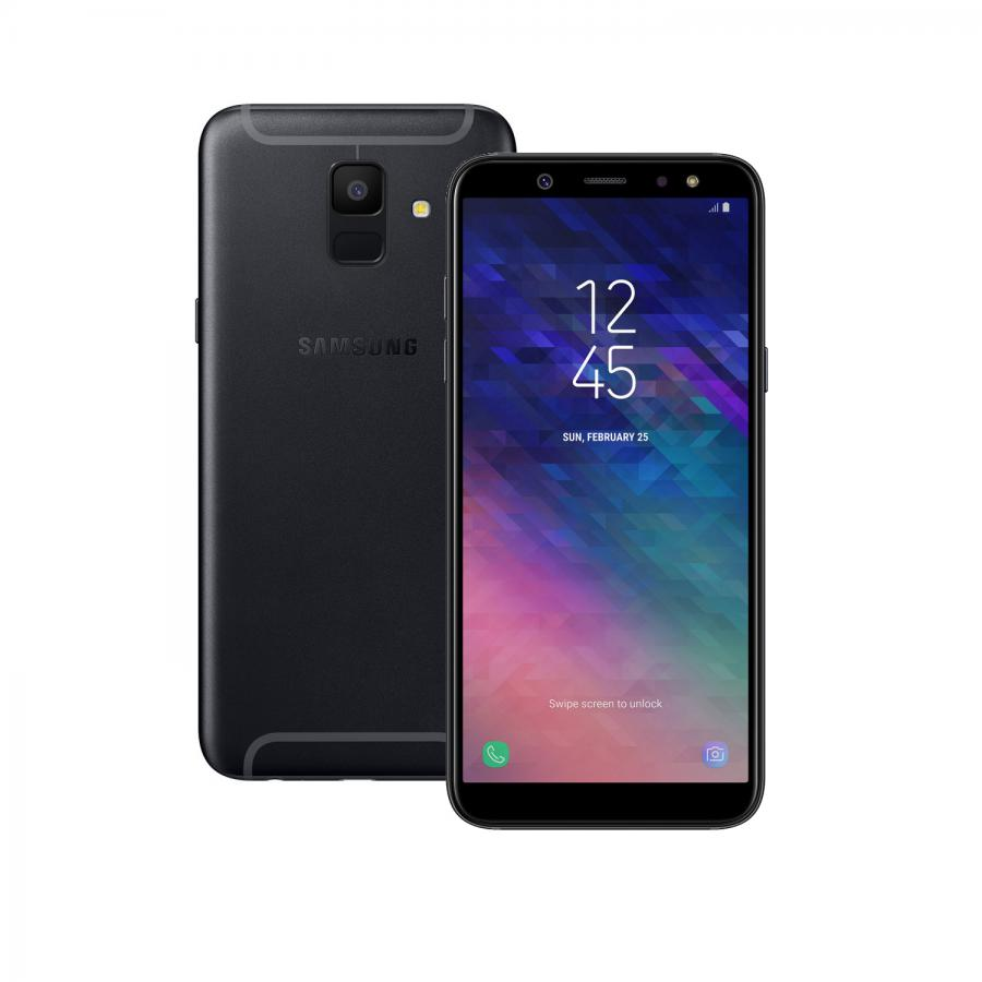 Смартфон Samsung SM-A600F Galaxy A6 (2018) 32Gb 3Gb Black смартфон samsung sm a600f galaxy a6 2018 32gb 3gb gold