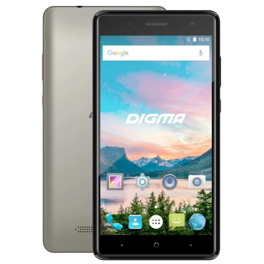 Смартфон Digma HIT Q500 3G 8Gb 1Gb Gray