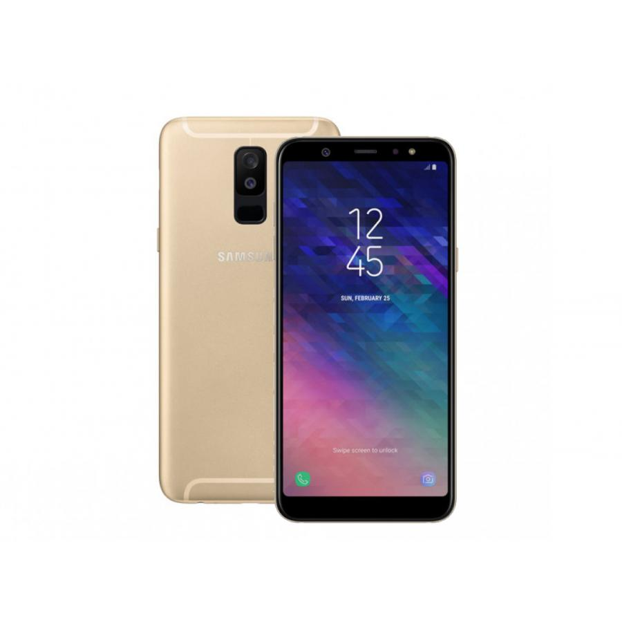 Смартфон Samsung SM-A605F Galaxy A6+ (2018) 32Gb 3Gb Gold vivo xplay3s x520a 6 quad core android 4 3 4g mobile phone w 32gb rom 3gb ram gps wifi white