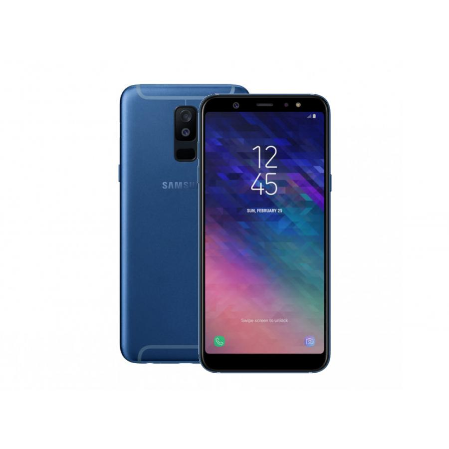 Смартфон Samsung SM-A605F Galaxy A6+ (2018) 32Gb 3Gb Blue vivo xplay3s x520a 6 quad core android 4 3 4g mobile phone w 32gb rom 3gb ram gps wifi white