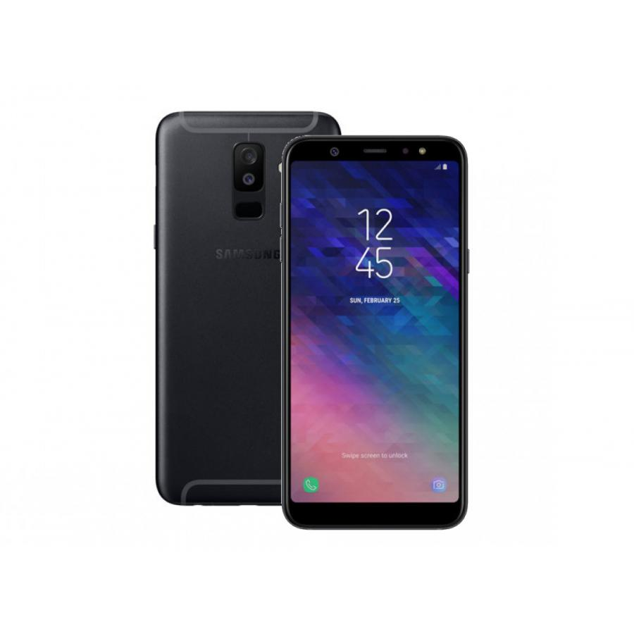 Смартфон Samsung SM-A605F Galaxy A6+ (2018) 32Gb 3Gb Black смартфон samsung sm a600f galaxy a6 2018 32gb 3gb gold