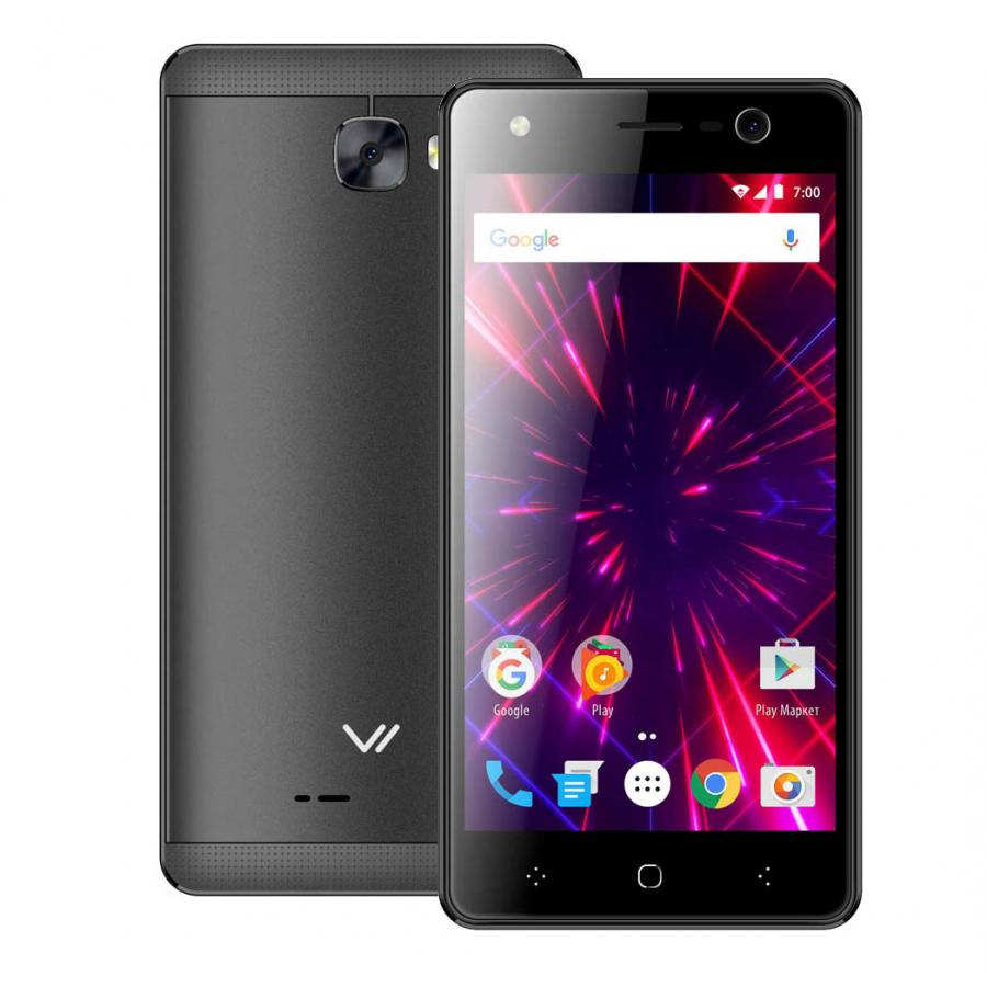 Смартфон Vertex Impress Disco LTE Grafit смартфон vertex impress forest 4g grafit