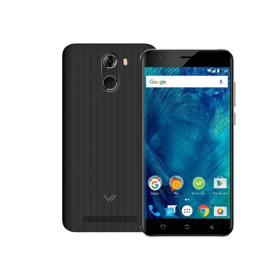 Смартфон Vertex Impress Frost LTE Black смартфон vertex impress aqua lte black