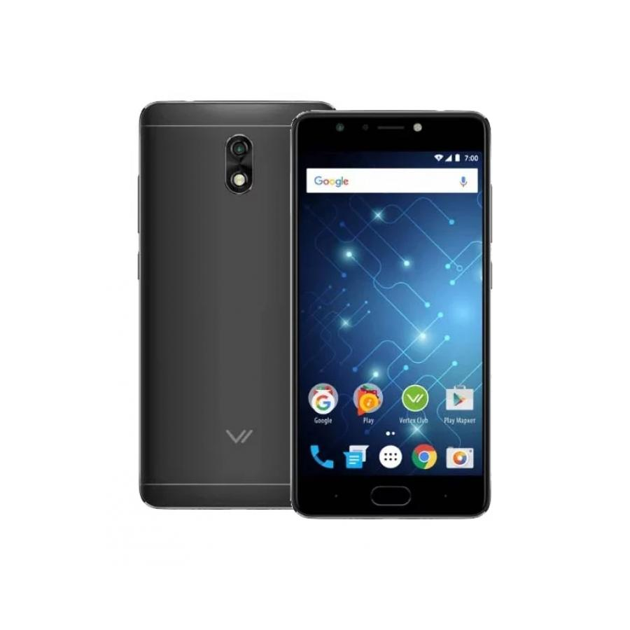 Смартфон Vertex Impress Play LTE Black смартфон vertex impress aqua lte black