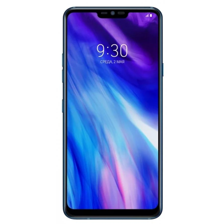 Смартфон LG G7 ThinQ 64Gb Aurora Blue сотовый телефон lg g7 thinq 64gb blue
