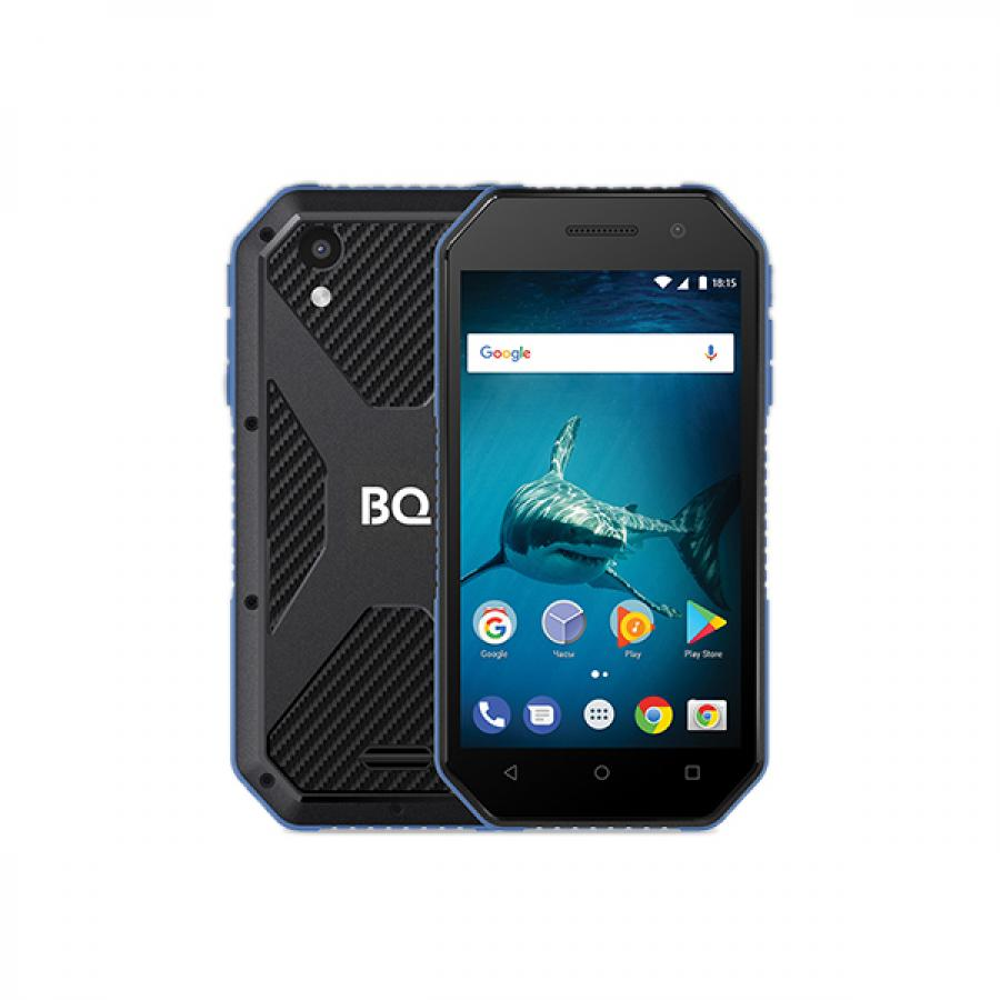 Смартфон BQ BQ-4077 Shark Mini Black Blue смартфон