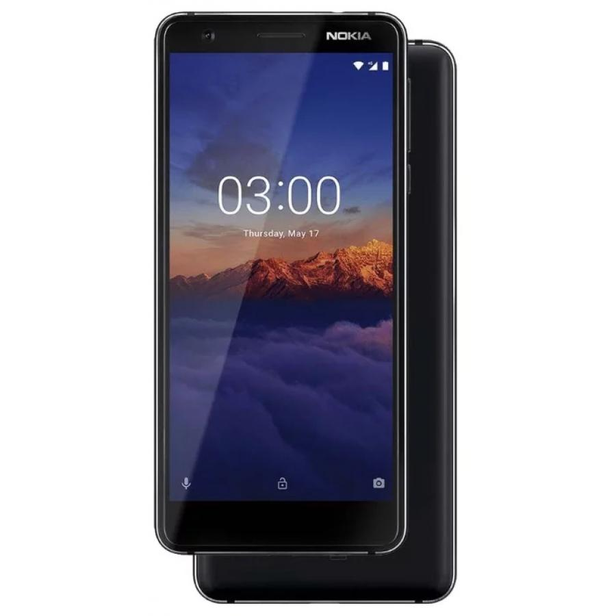 Смартфон Nokia 3.1 16Gb Black смартфон nokia 8 polished blue