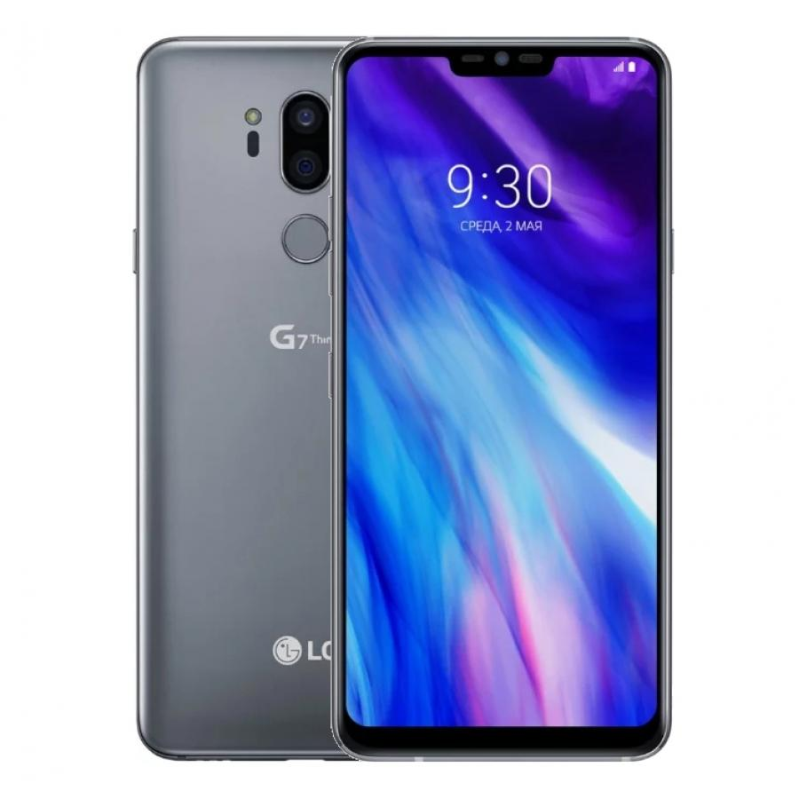 Смартфон LG G7 ThinQ 64Gb Aurora Platinum Grey сотовый телефон lg g7 thinq 64gb blue