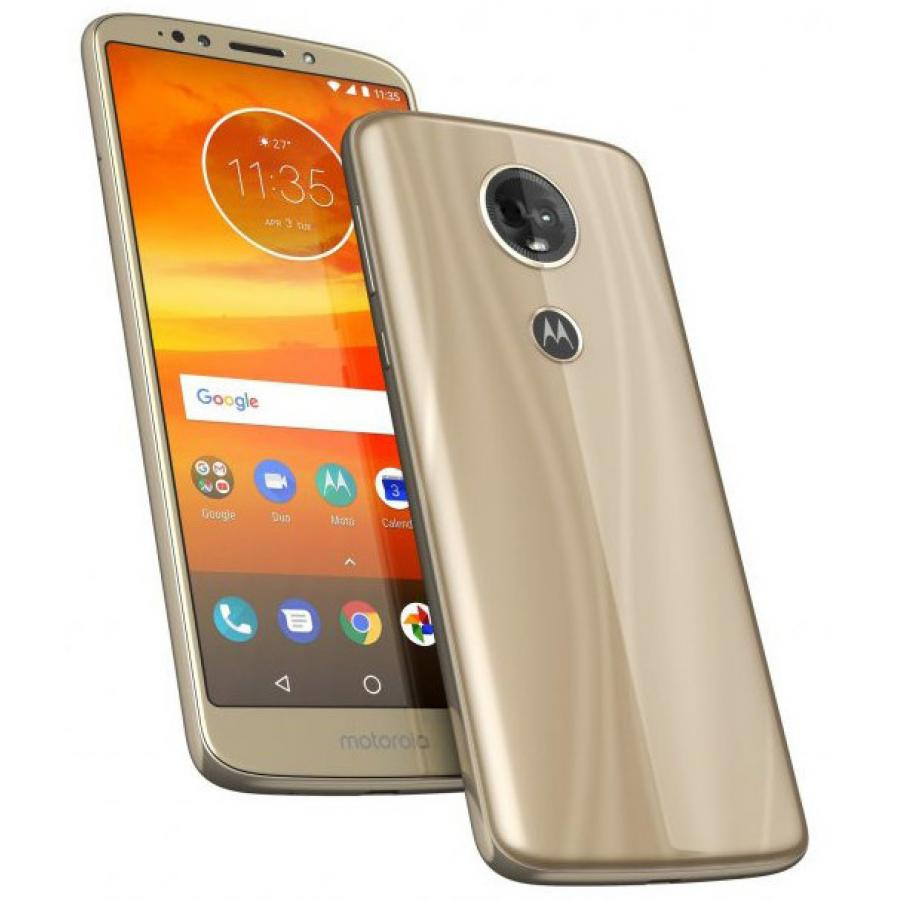 Смартфон Motorola Moto E5 Plus 32Gb LTE Dual sim Gold смартфон motorola moto e5 plus 32gb xt1924 1 grey