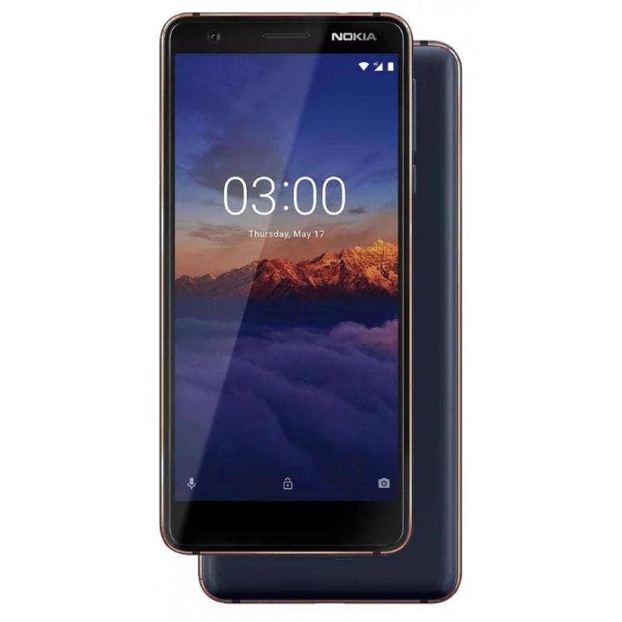 Смартфон Nokia 3.1 16Gb Blue смартфон nokia 5 1 16gb black