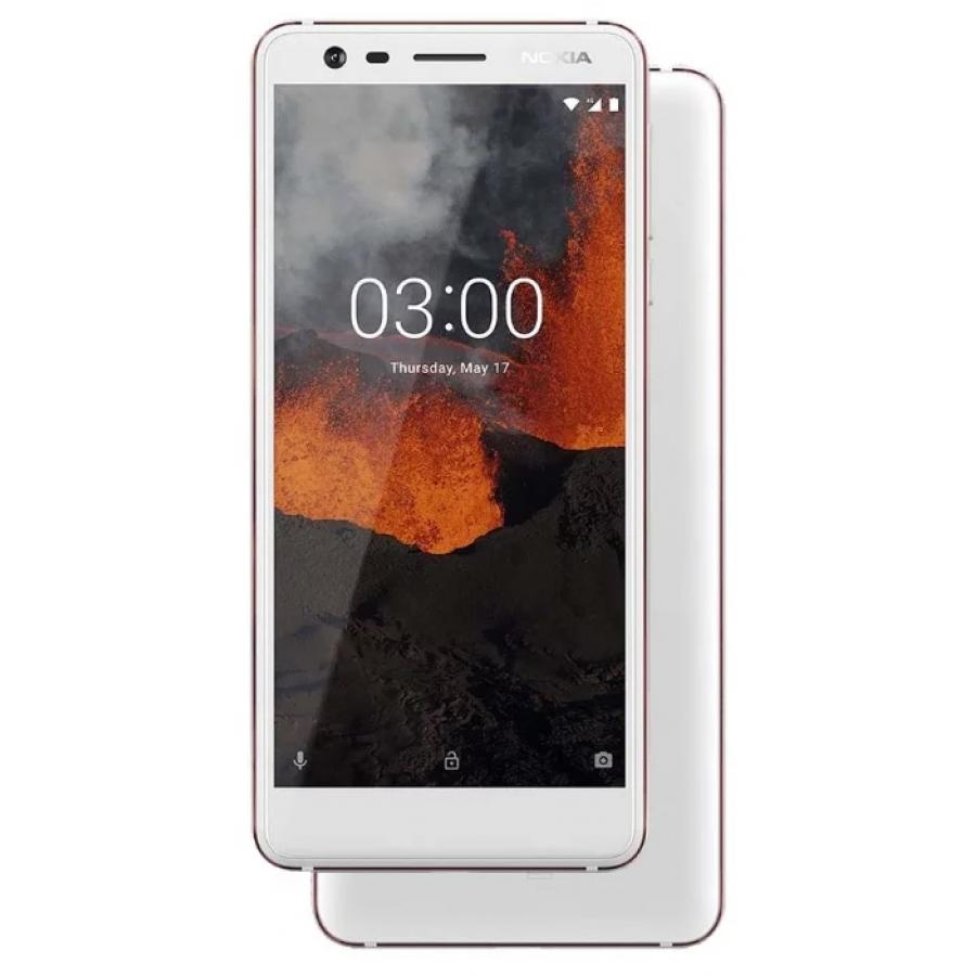 Смартфон Nokia 3.1 16Gb White смартфон nokia 8 polished blue