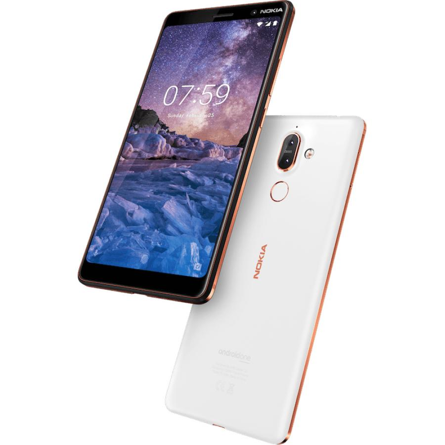 Смартфон Nokia 7 Plus DS TA-1046 White смартфон nokia 8 polished blue