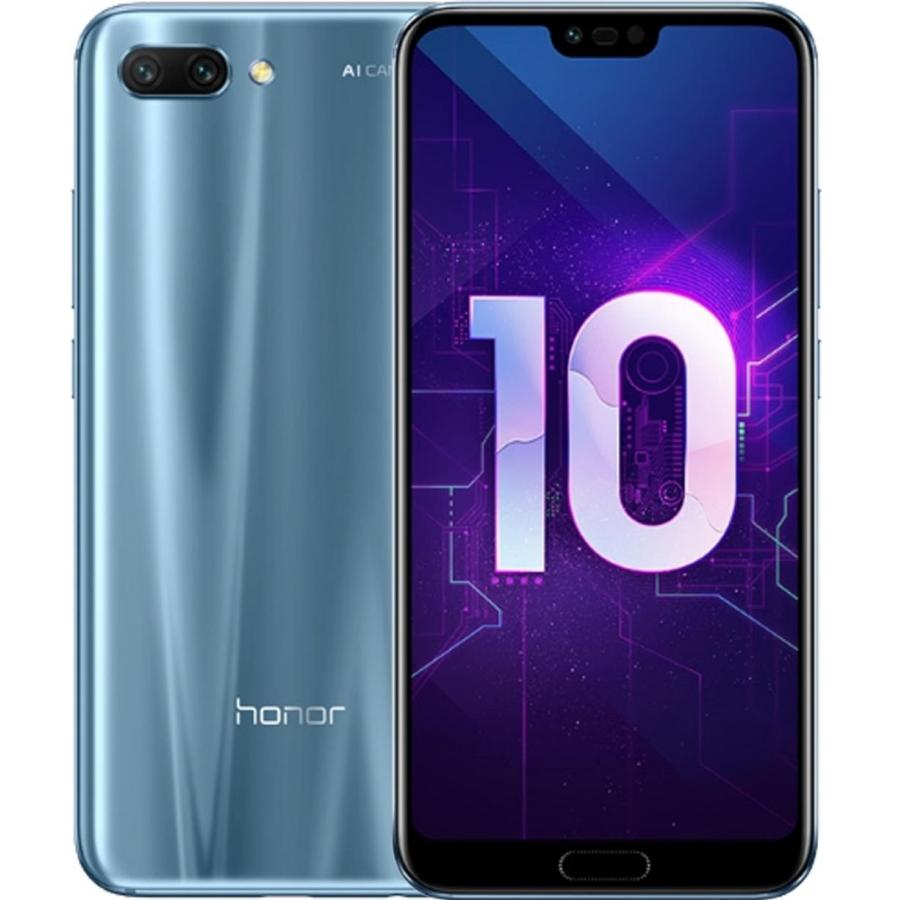 Смартфон Honor 10 64Gb LTE Dual sim Grey смартфон honor 7x 64 гб черный bnd l21 51091ytx