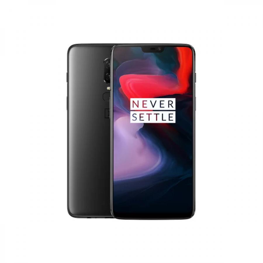 Смартфон OnePlus 6 8/128Gb A6003 Midnight Black oneplus смартфон oneplus oneplus 5t 128gb ram 8gb черный black