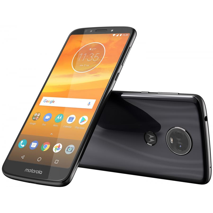 Смартфон Motorola Moto E5 Plus 32Gb LTE Dual sim Grey смартфон motorola moto e5 plus 32gb xt1924 1 grey