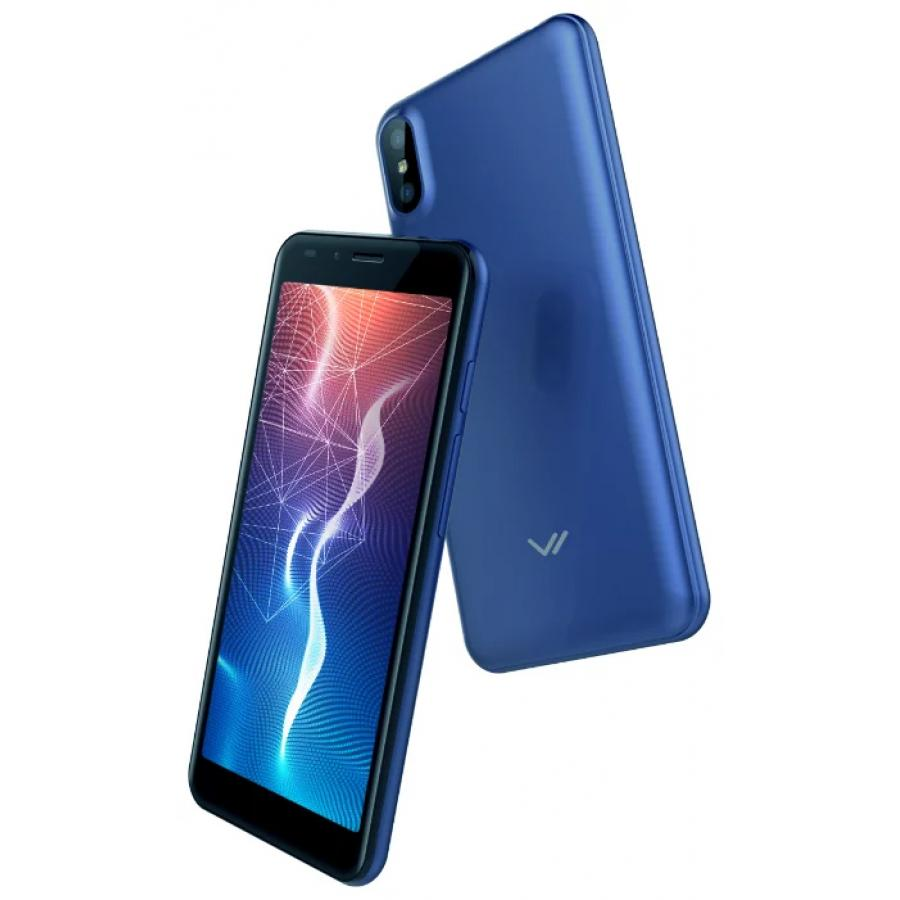 Смартфон Vertex Impress Click Blue смартфон vertex impress flash blue