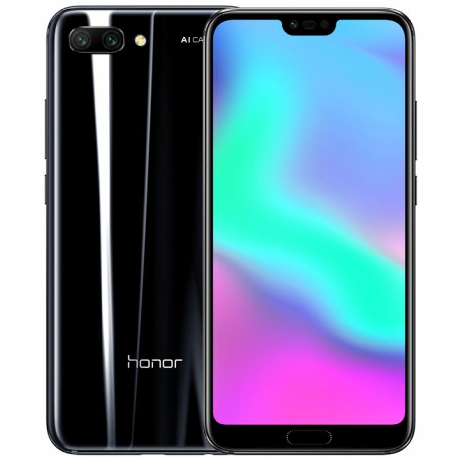 Смартфон Honor 10 64Gb LTE Dual sim Midnight Black смартфон honor 7x 64 гб черный bnd l21 51091ytx