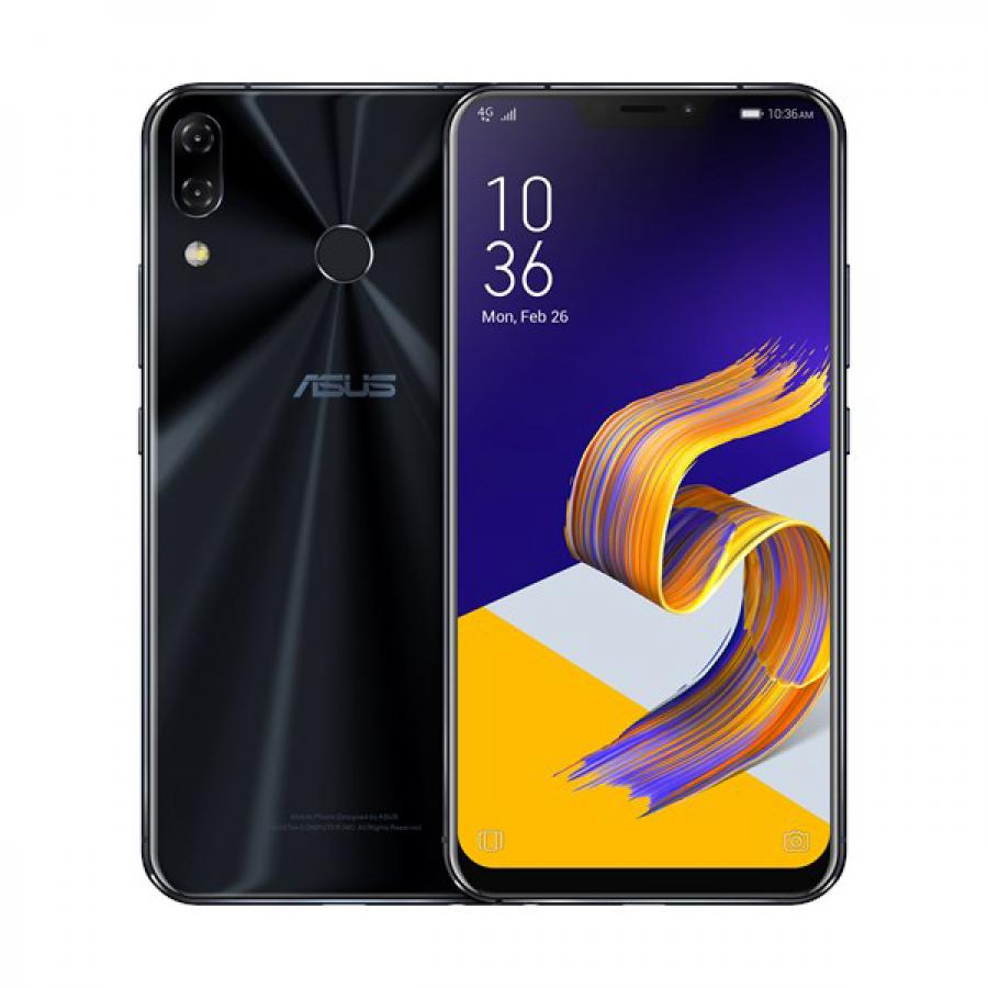 Смартфон Asus ZenFone 5Z ZS620KL 6/64Gb Midnight Blue смартфон asus zenfone 3 delux zs550kl 2g008ru 64gb золотистый 90az01f1 m00090