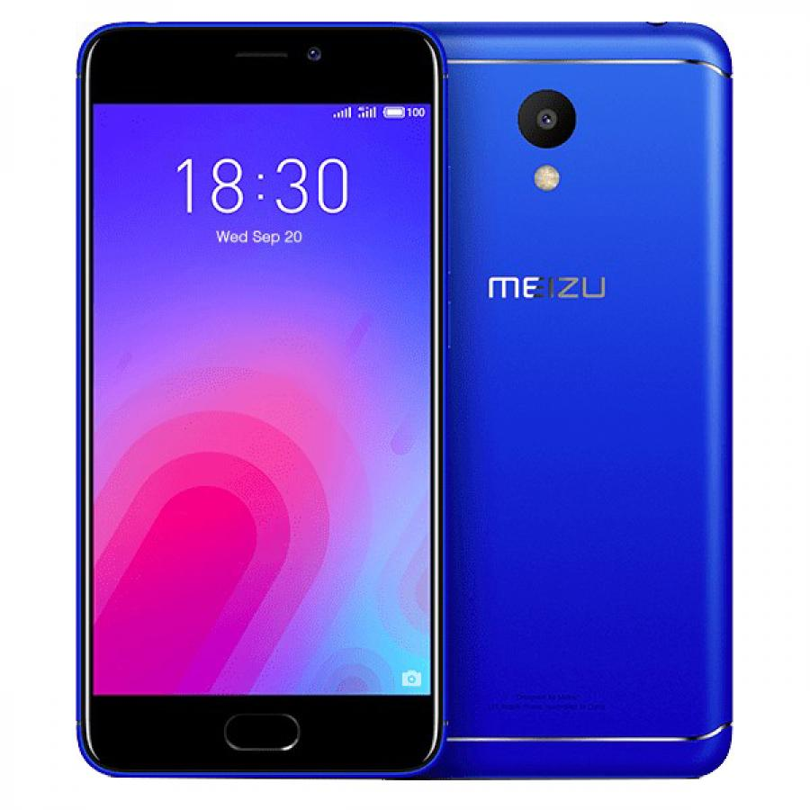 Смартфон Meizu M6T 3/32GB Blue смартфон meizu m6t 3 32gb gold