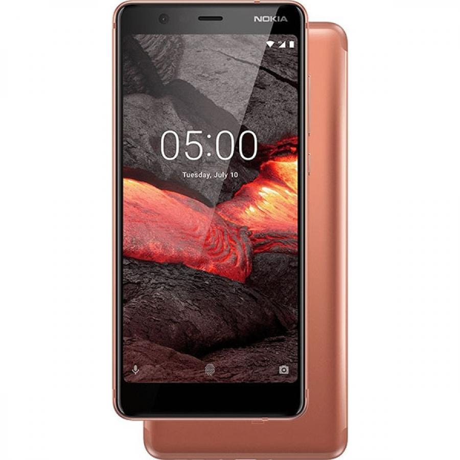 Смартфон Nokia 5.1 16Gb Copper смартфон nokia 5 1 16gb black