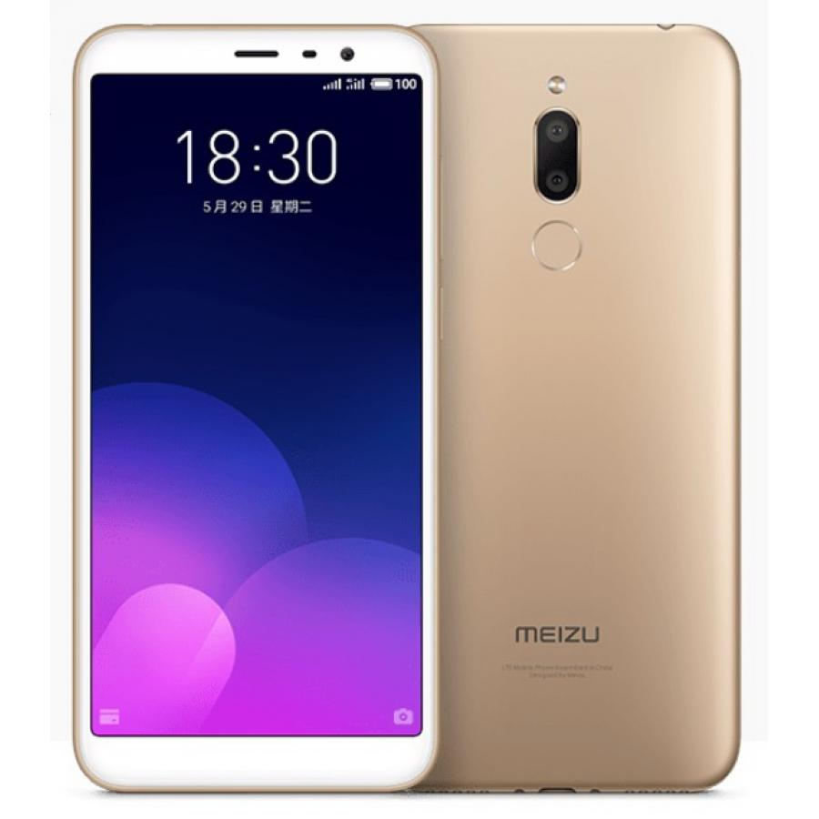 Смартфон Meizu M6T 3/32GB Gold смартфон meizu m6t 3 32gb gold