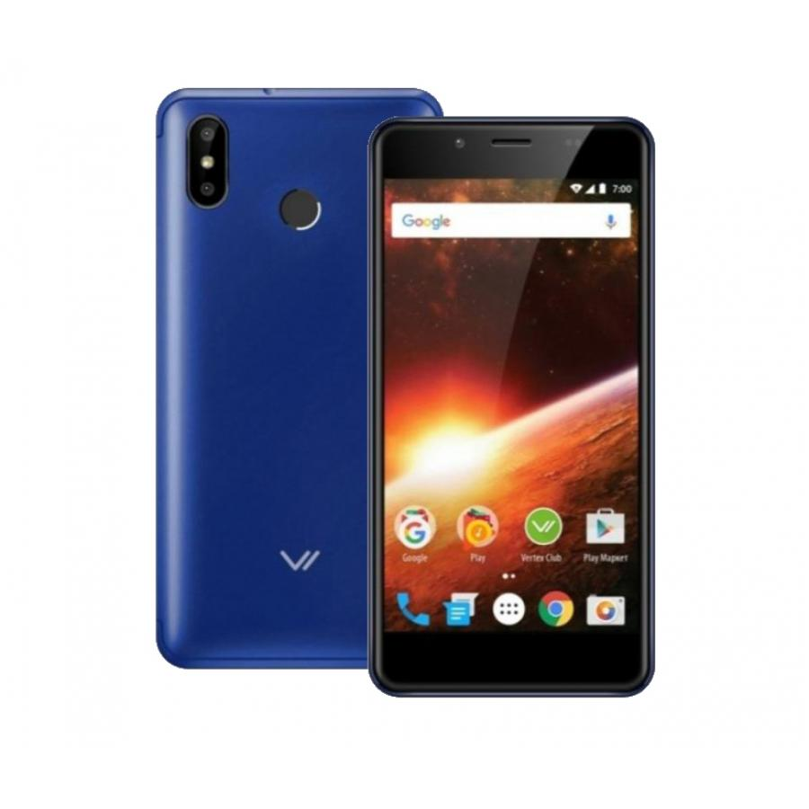 Смартфон Vertex Impress Eclipse LTE Blue смартфон vertex impress eclipse lte gold