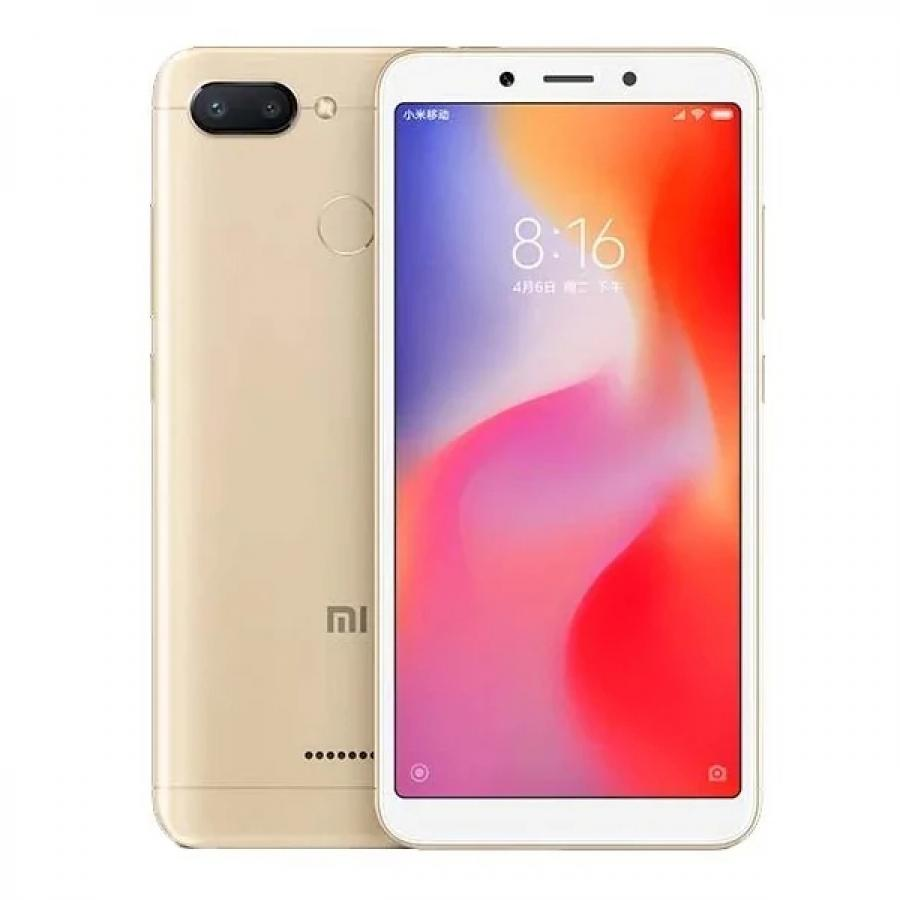 Смартфон Xiaomi Redmi 6 3/32Gb Gold смартфон xiaomi redmi 6a 2 32gb gold