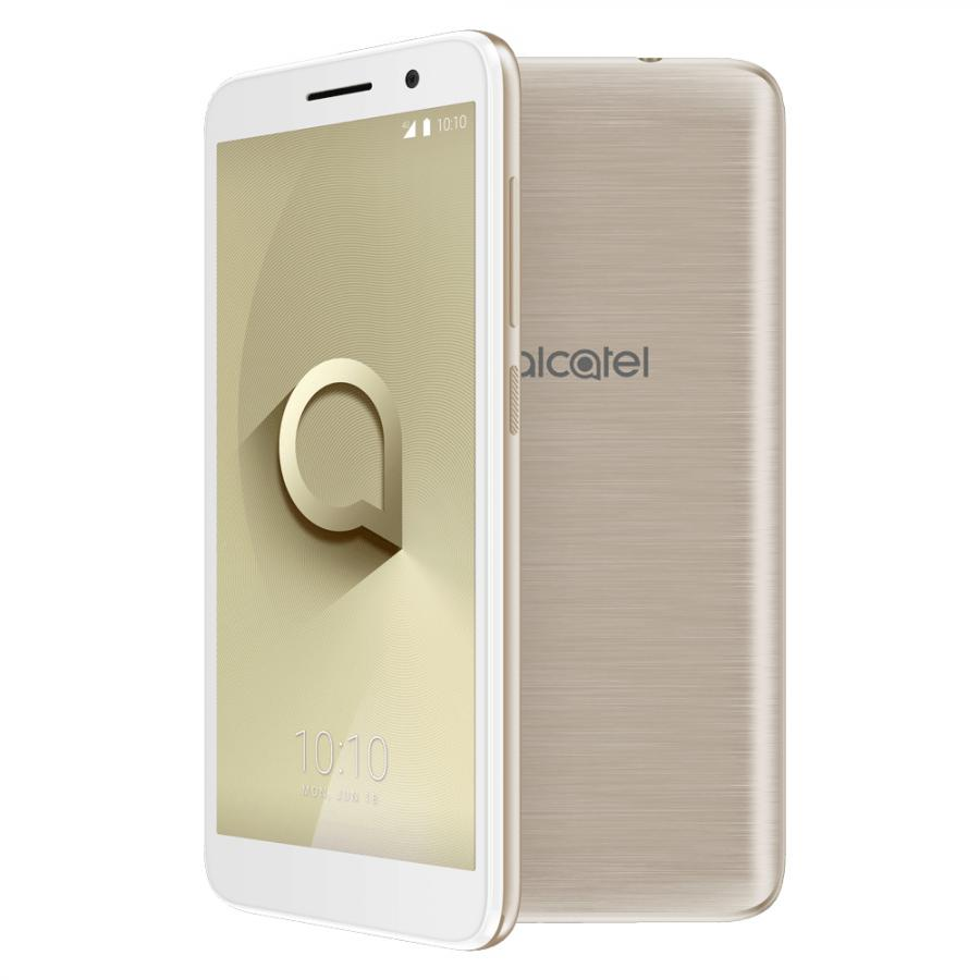Смартфон Alcatel 1 5033D Gold смартфон alcatel idol 5 6058d metal silver
