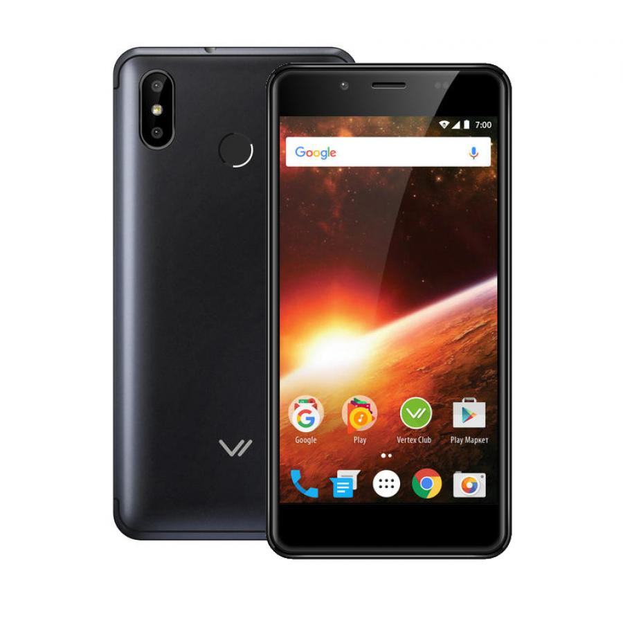 Смартфон Vertex Impress Eclipse LTE Black смартфон vertex impress aqua lte black