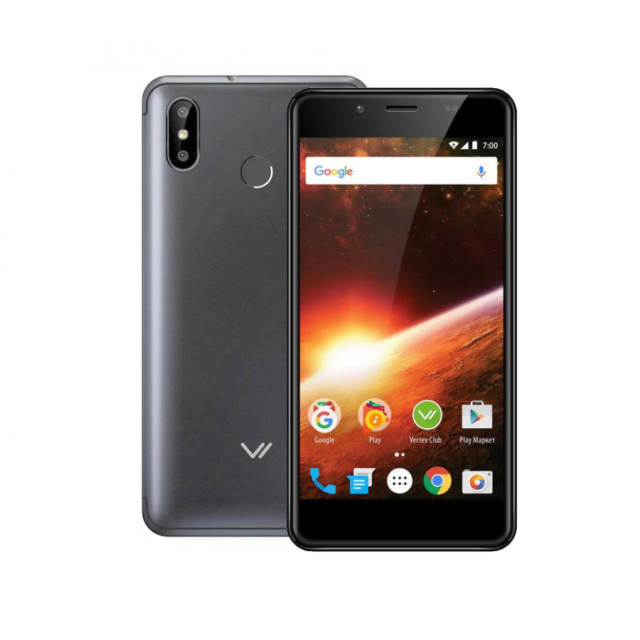 Смартфон Vertex Impress Eclipse LTE Grafite смартфон vertex impress eclipse lte gold